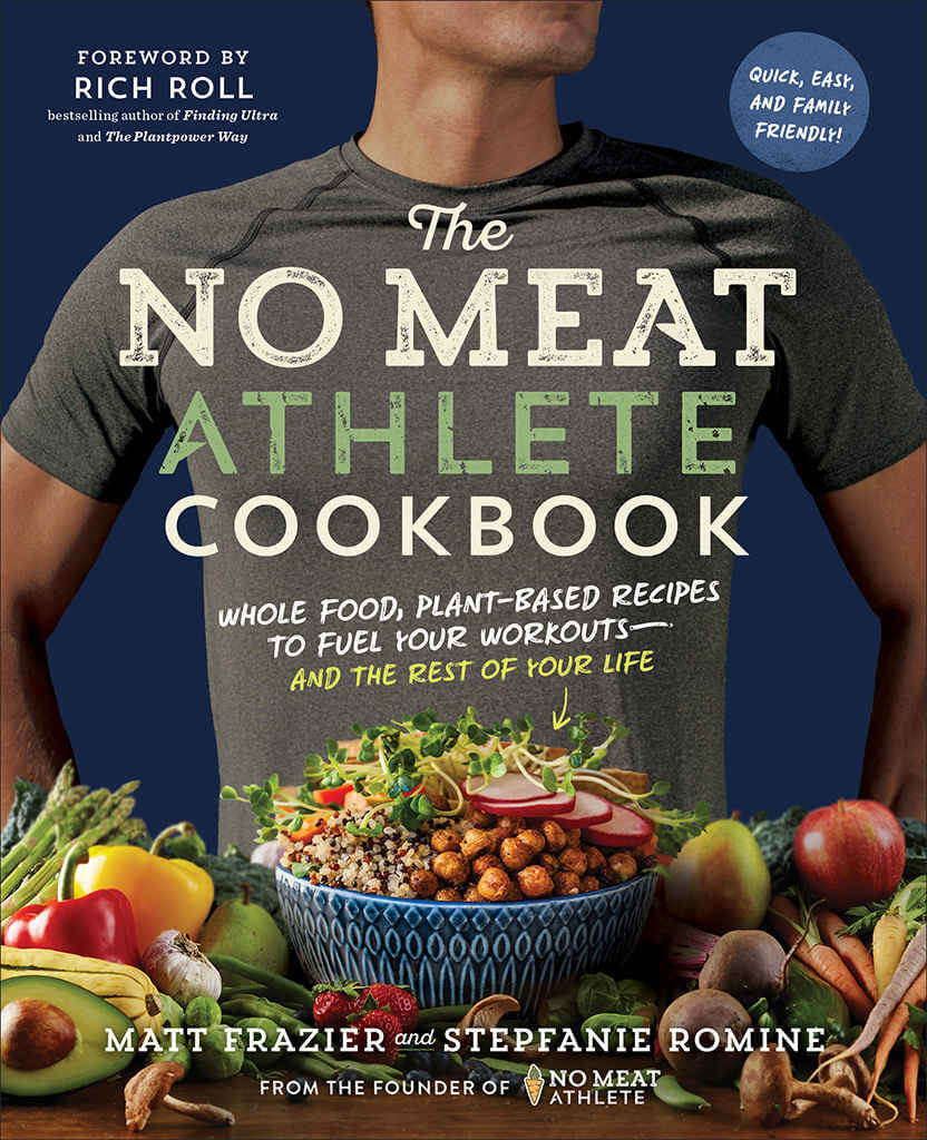 The No Meat Athlete Cookbook Cover
