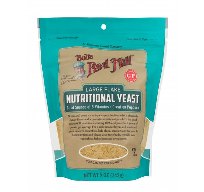 Bob's Red Mill's nutritional yeast