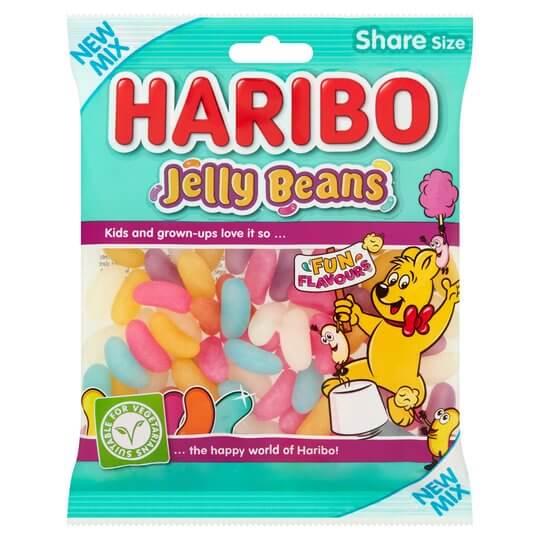haribo jelly bean packaging
