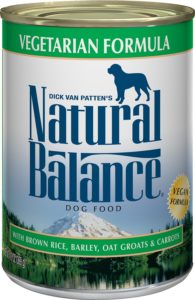 natural balance wet dog food vegan