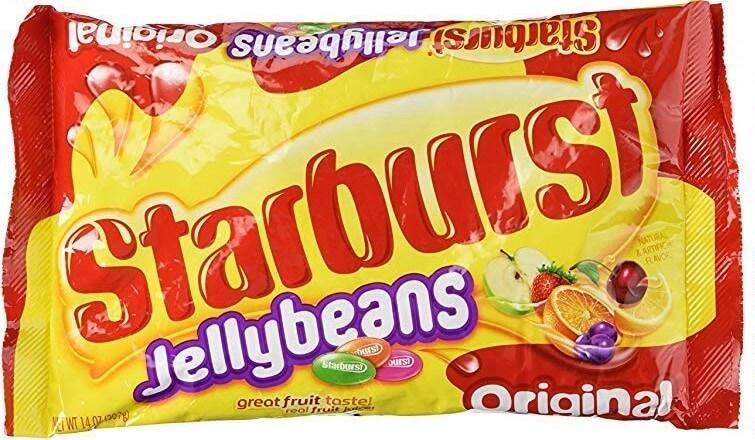 starburst jelly beans packaging