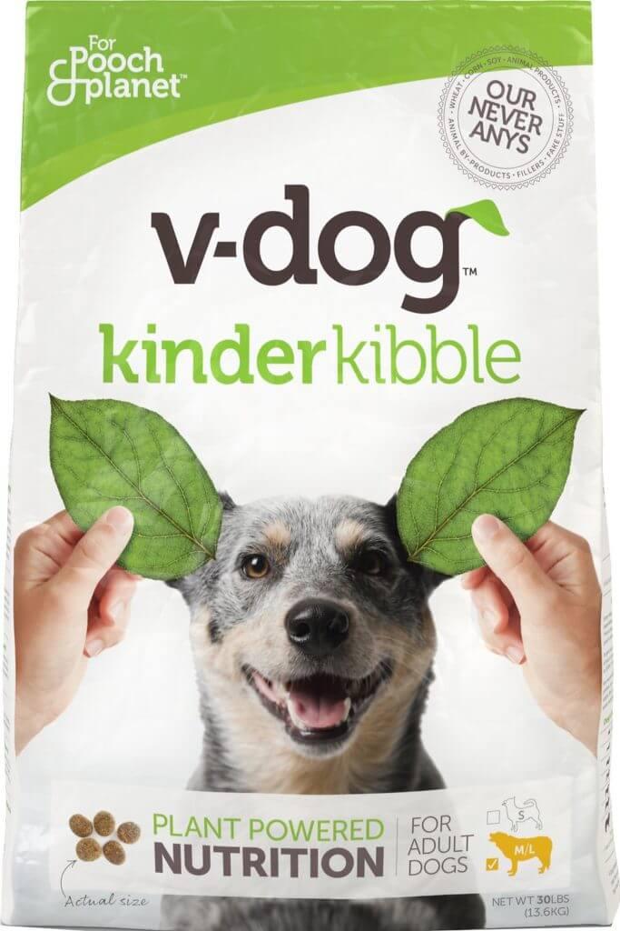 v dog vegan dog kibble