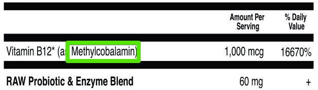 vitamin b12 types