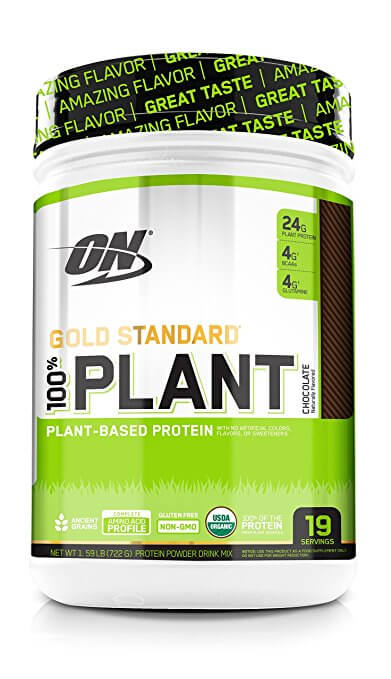 ON gold standard plant packaging