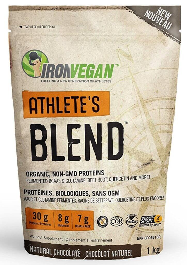 iron vegan packaging