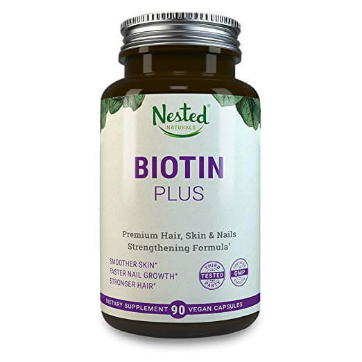 nested naturals biotin plus tablets