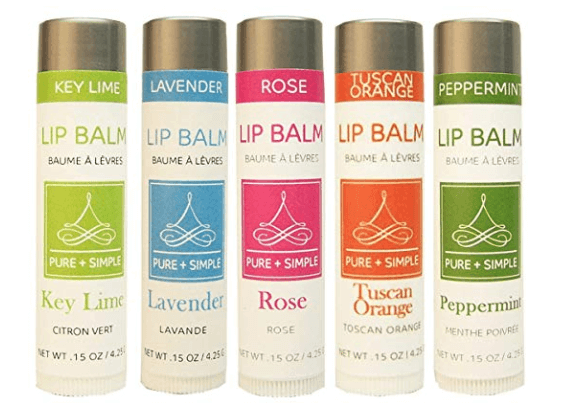 pure+simple lip balm