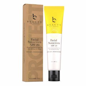 beauty by earth facial sunscreen