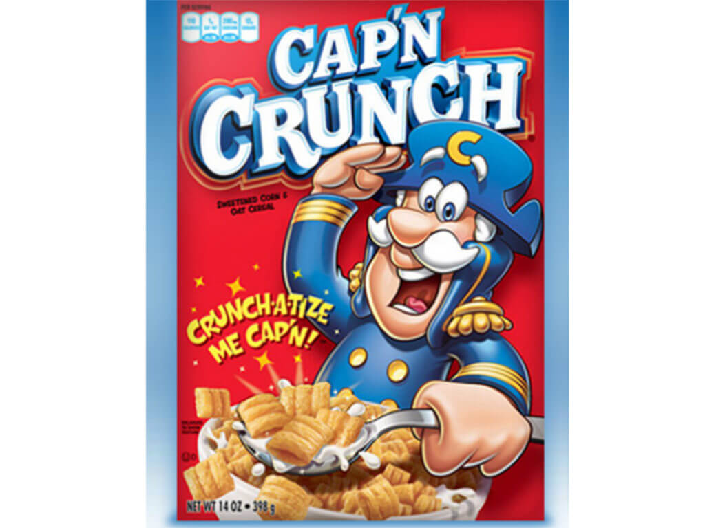captain crunch box