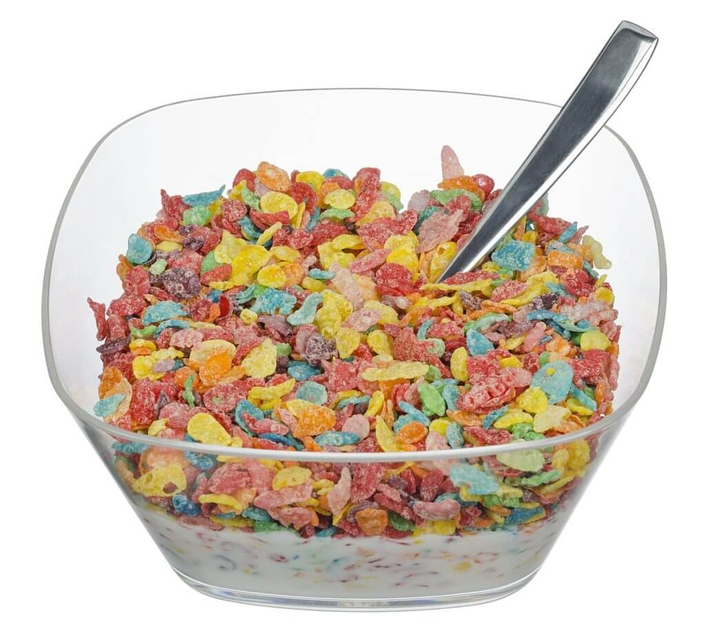 fruity pebbles in a bowl