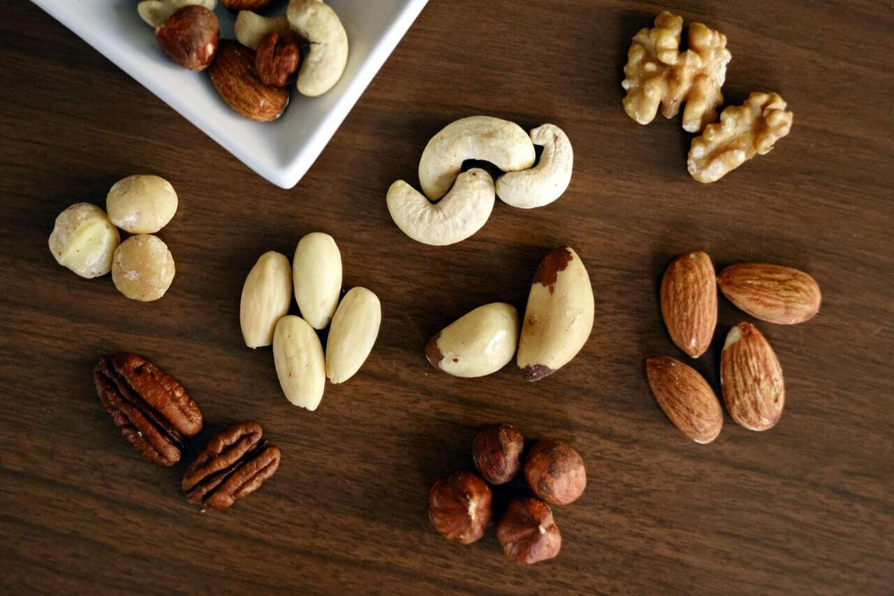 high fat nuts