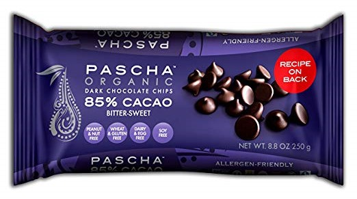 pascha chocolate chips dark
