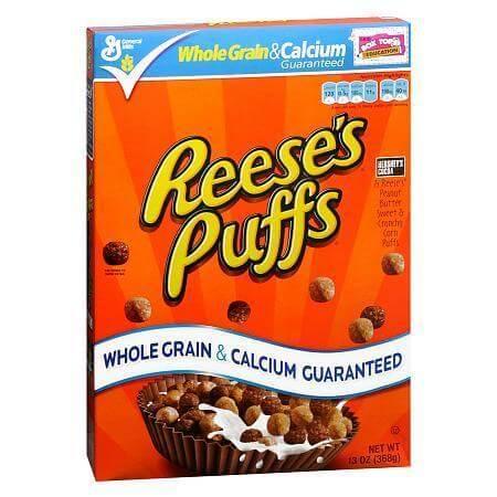reeses puffs box