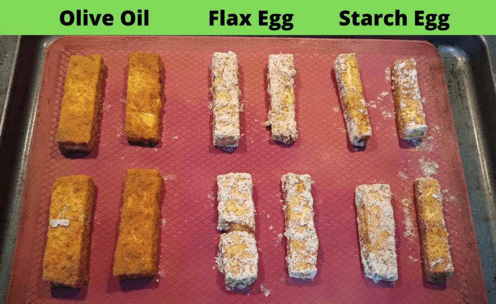 cooked tofu sticks vegan