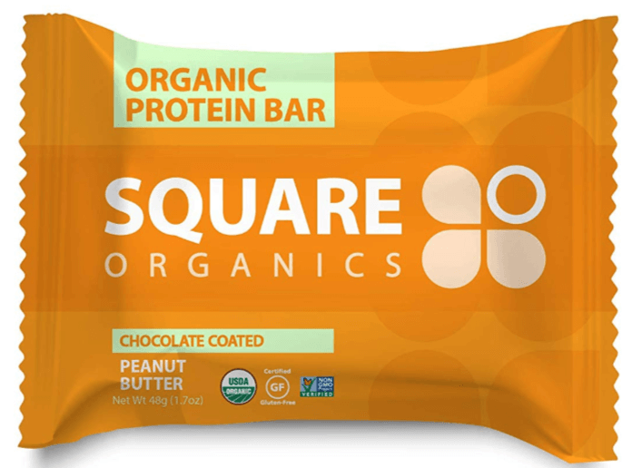 square organics bar wrapper