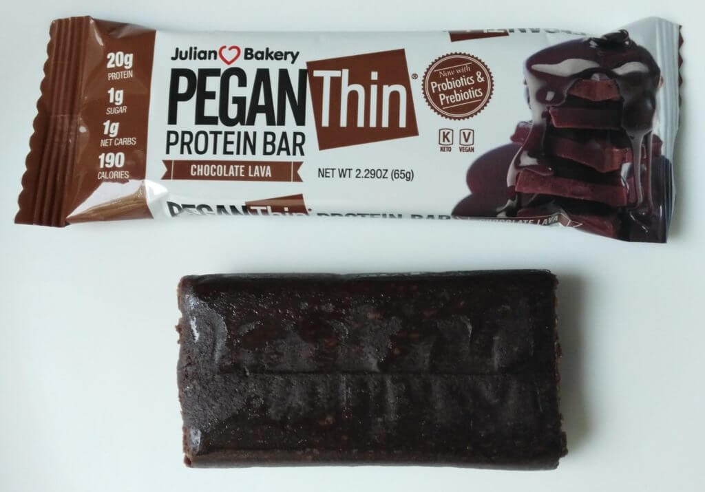 pegan bar compared to wrapper