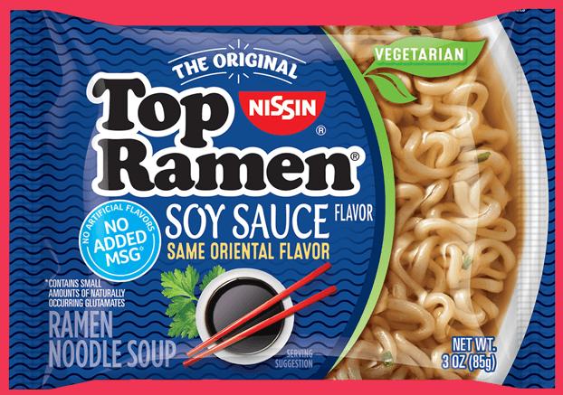 top ramen soy sauce