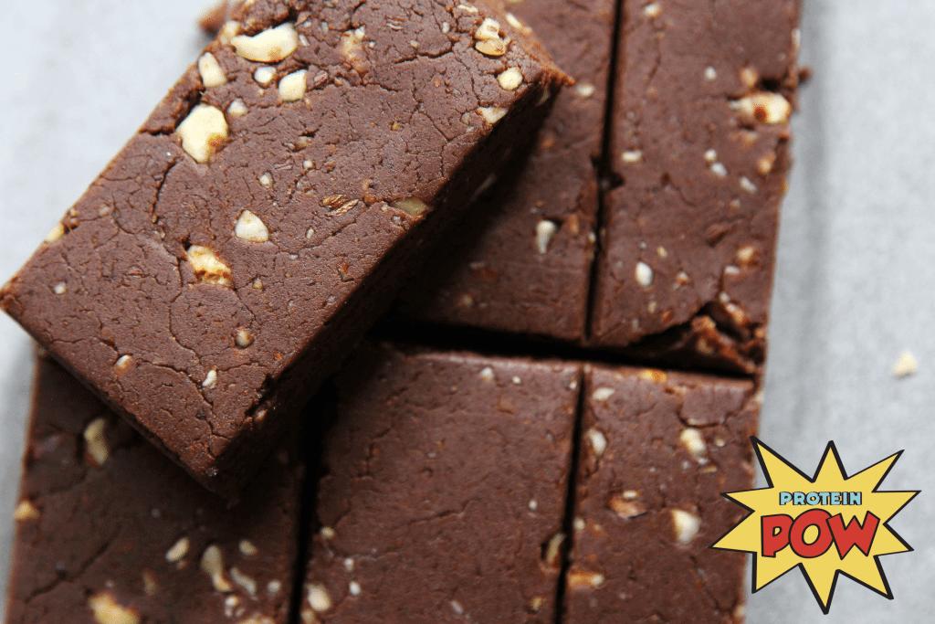 chocolate hazelnut protein bars