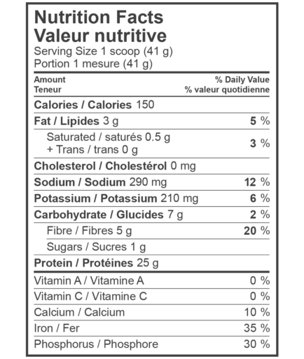 Kaizen naturals vegan protein powder nutrition facts