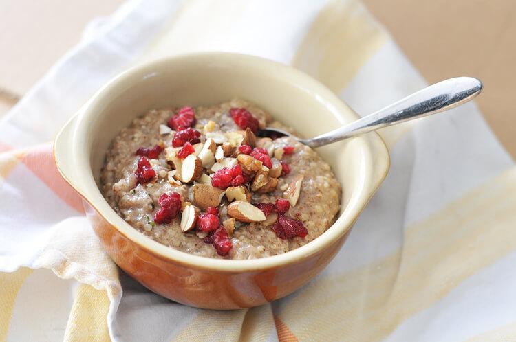 keto hemp porridge