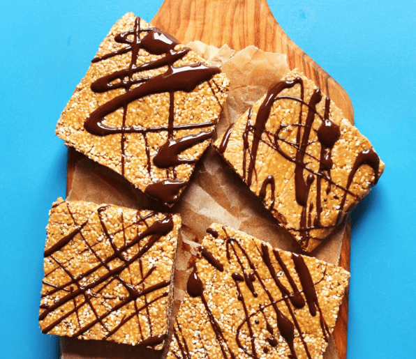 no bake vegan protein bars
