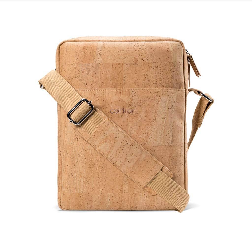 corker vertical messenger bag