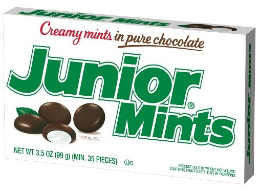 a package of junior mints