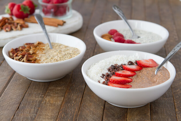 vegan keto overnight oats