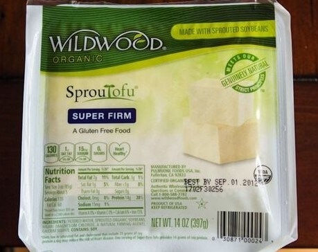 sprouted tofu