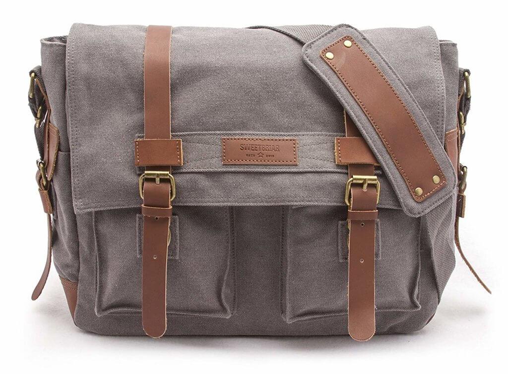 sweetbriar messenger laptop bag