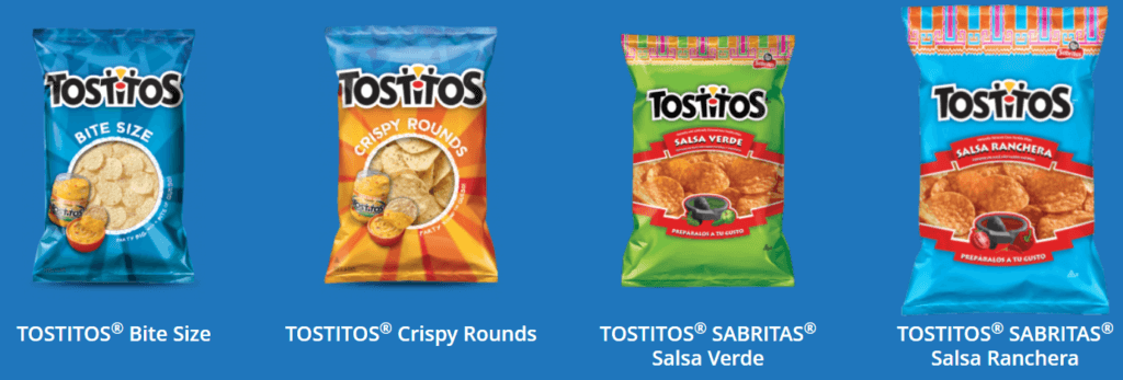 tostitos rounds