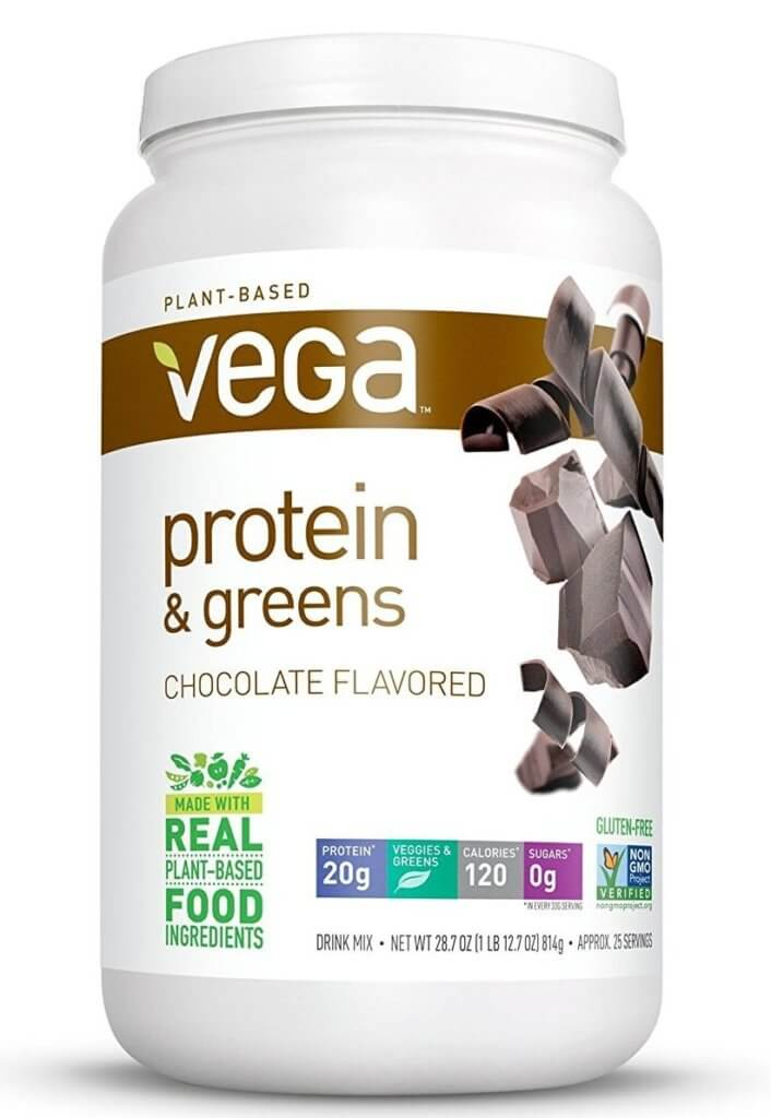 vega protein and greens container