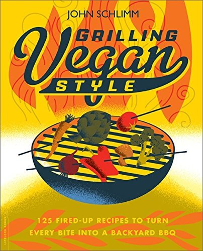 grilling vegan style cookbook cover