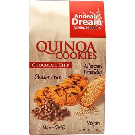 andean quinoa cookies