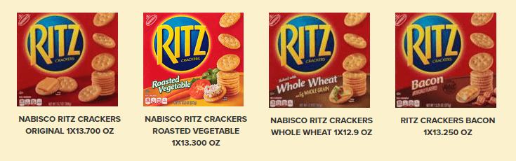 ritz cracker varieties