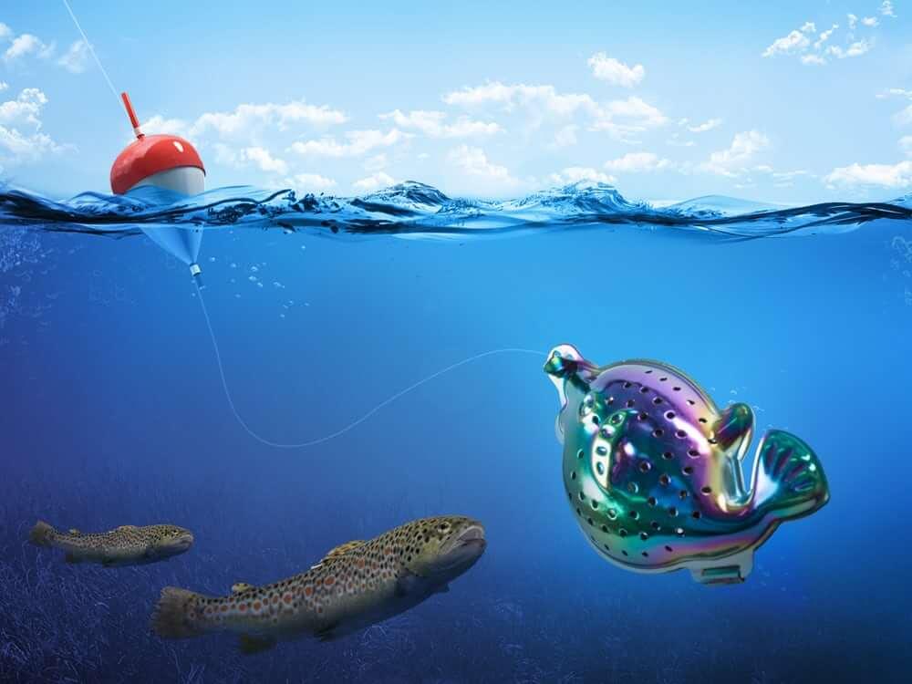 vegan fishing lure