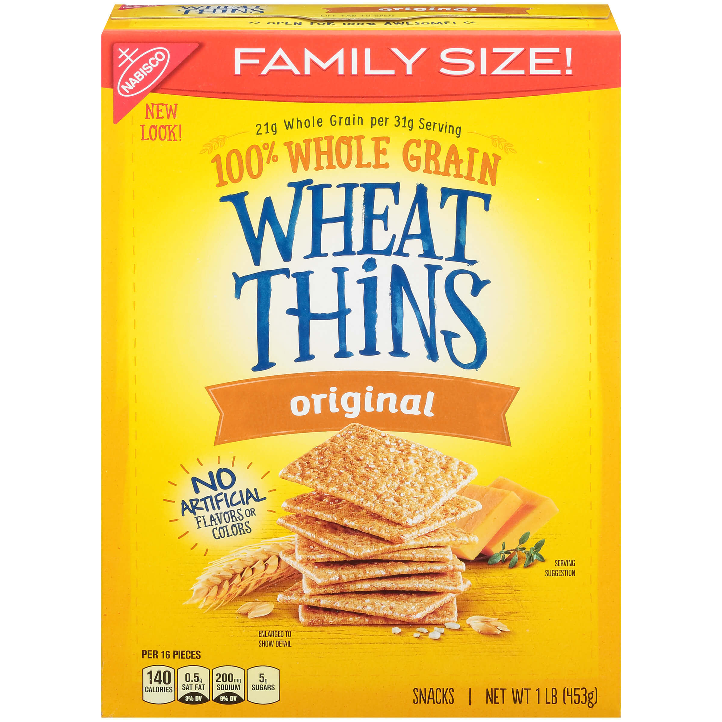 wheat thins packaging
