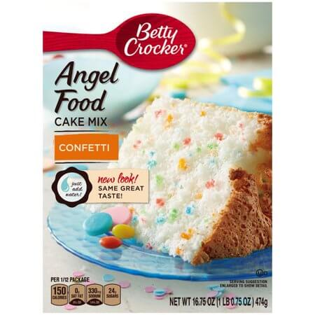 betty crocker angel cake