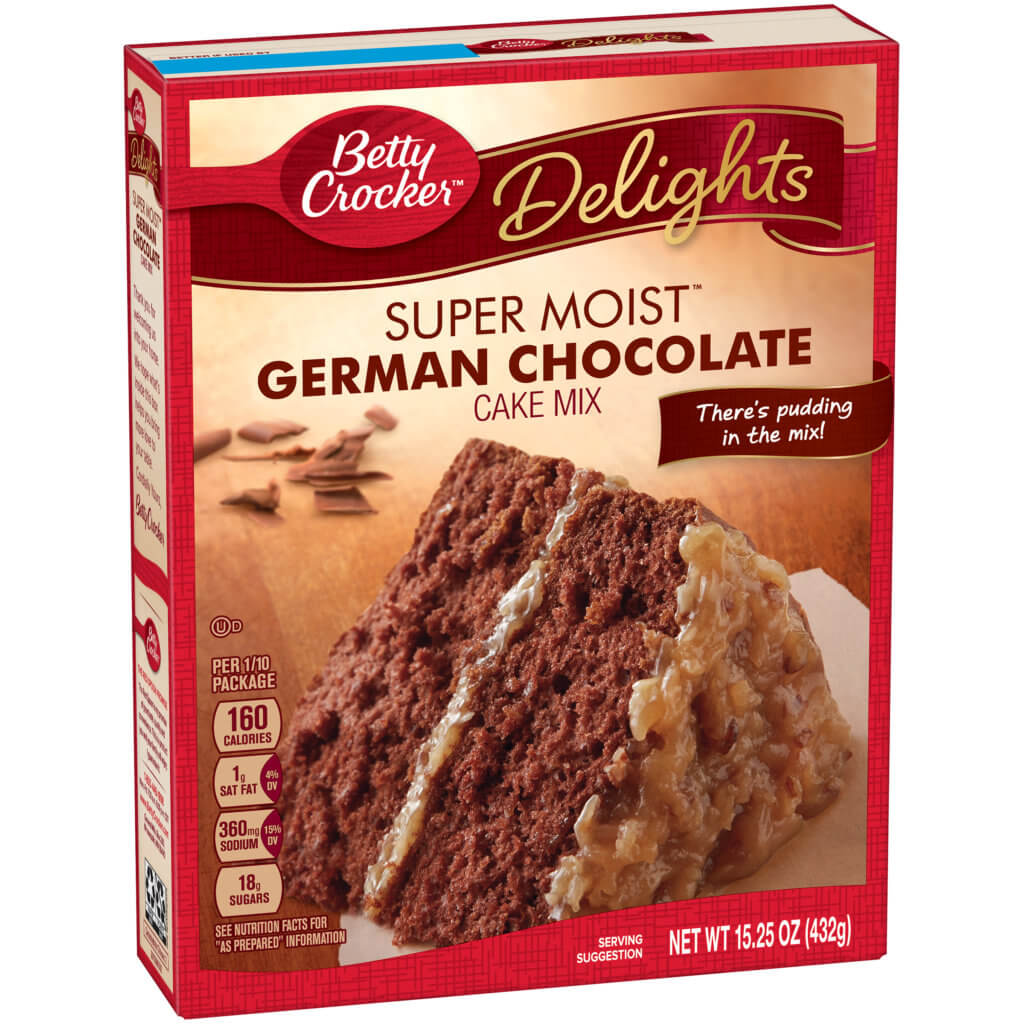 betty crocker delights cake mix