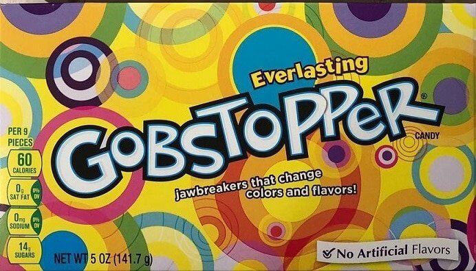 gobstoppers packaging