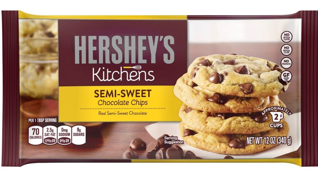 hersheys nonvegan chocolate chips