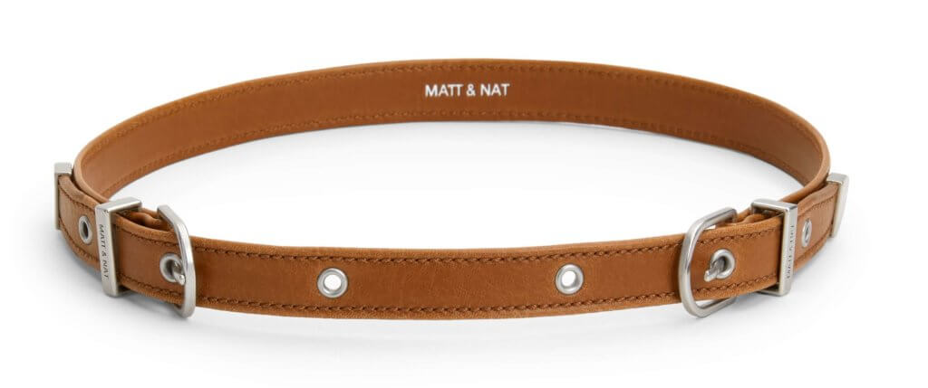 matt and natt vegan leather belts