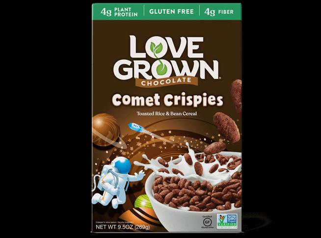 love grown crispies cereal
