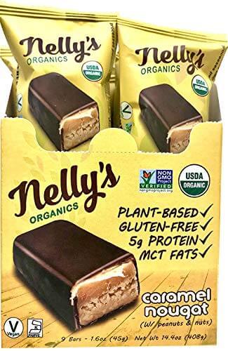 nelly's organics vegan bars