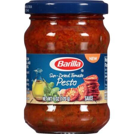 barilla pesto that is not vegan