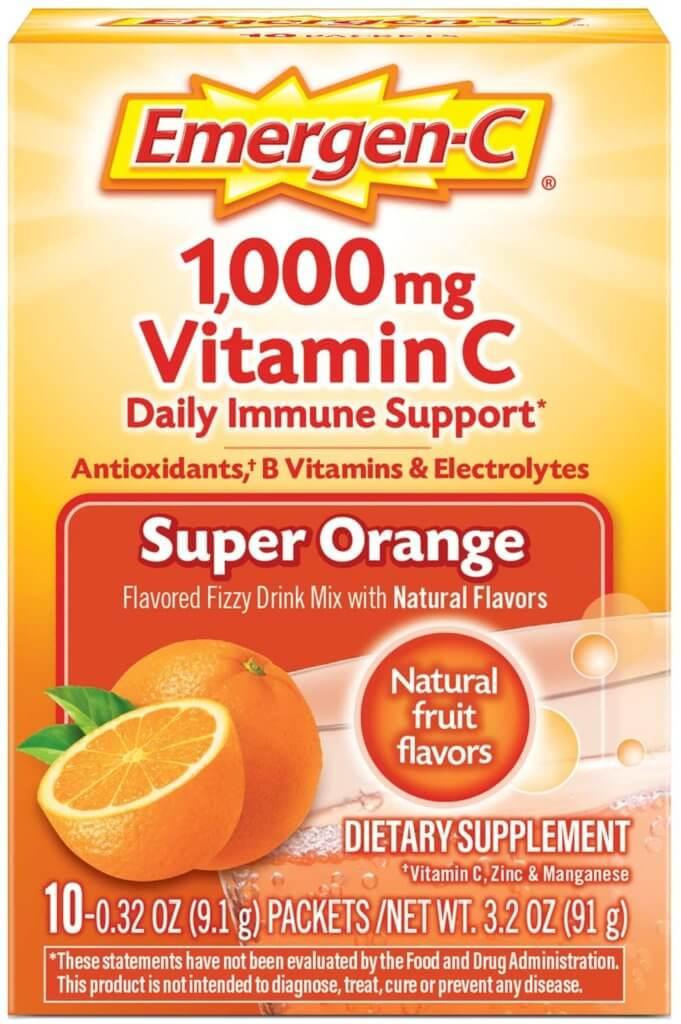 emergen c daily immune support