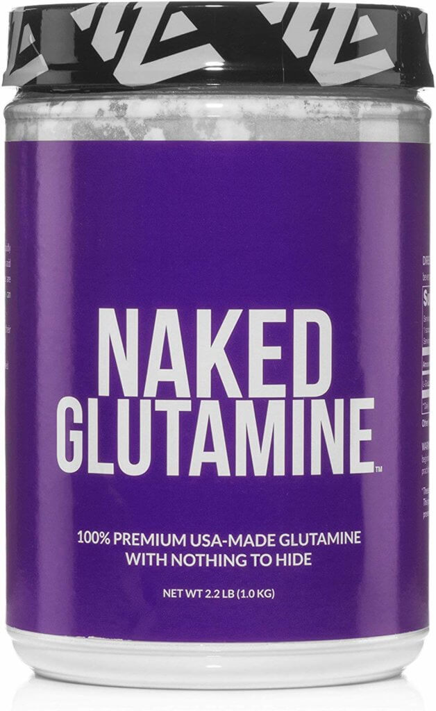 naked glutamine packaging