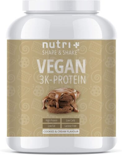 nutri plus vegan protein powder