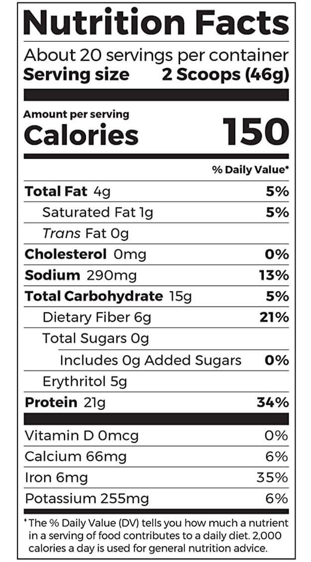 orgain-nutrition-facts