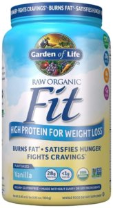 garden of life raw fit powder